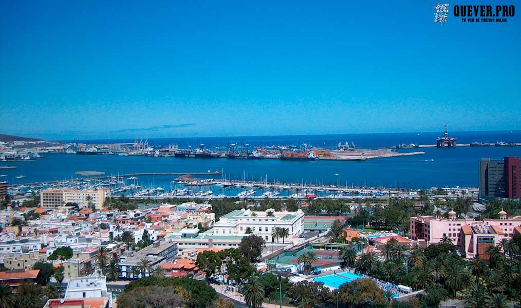 Puerto Marítimo en Las Palmas Las palmas de Gran Canaria