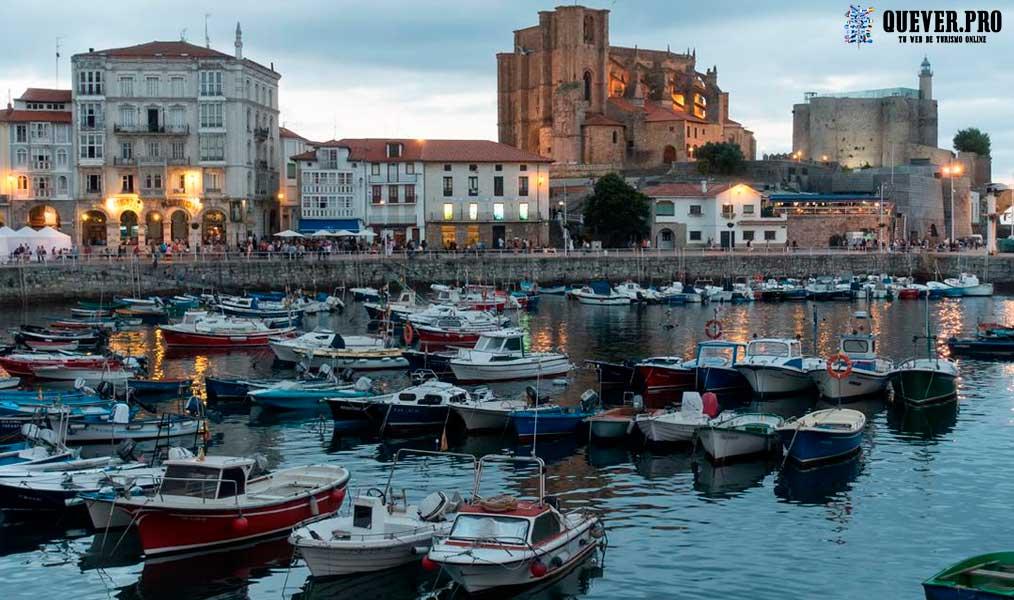 Puerto de Castro Urdiales Cantabria