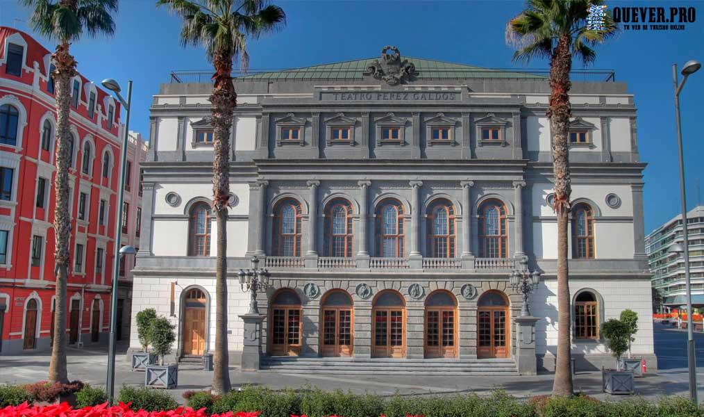 Teatro Pérez Galdós Las palmas de Gran Canaria