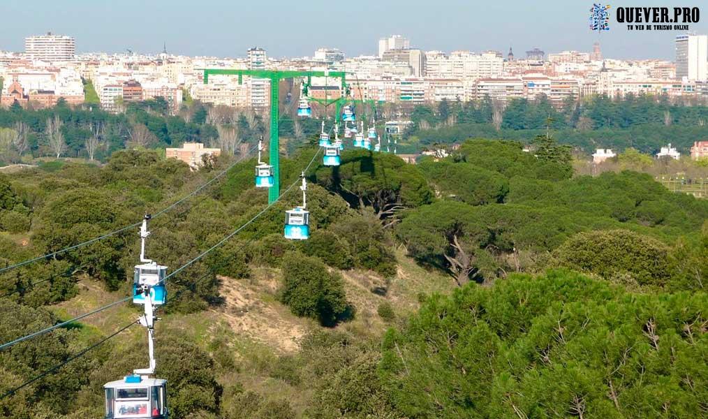 Teleférico de la Casa de Campo Madrid